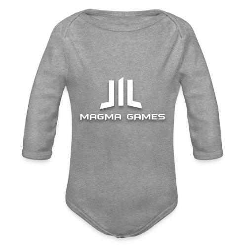 Magma Games Sweater - Baby bio-rompertje met lange mouwen