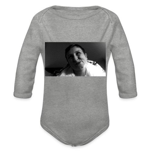 Basse Tshirt - Langærmet babybody, økologisk bomuld
