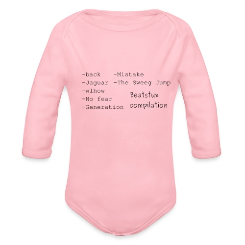 Beatstux compilation - Body ecologico per neonato a manica lunga