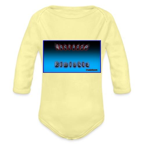Iscrazzo_riminkia - Body ecologico per neonato a manica lunga