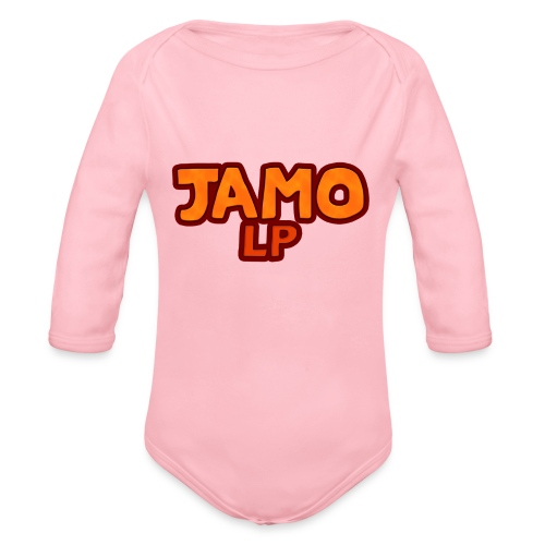 JAMOLP Logo T-shirt - Langærmet babybody, økologisk bomuld