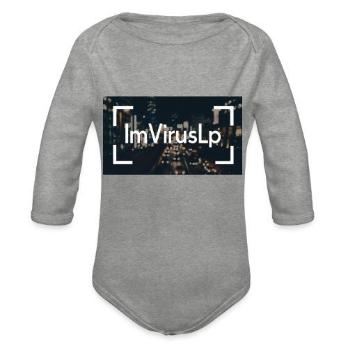 Ein ImVirusLp Banner Design Handy Hülle - Baby Bio-Langarm-Body