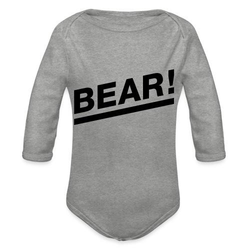 Bear! Solo - Baby Bio-Langarm-Body