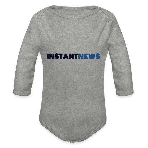 instantnews - Body ecologico per neonato a manica lunga