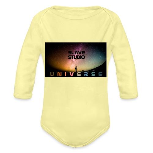 Universe - Body ecologico per neonato a manica lunga