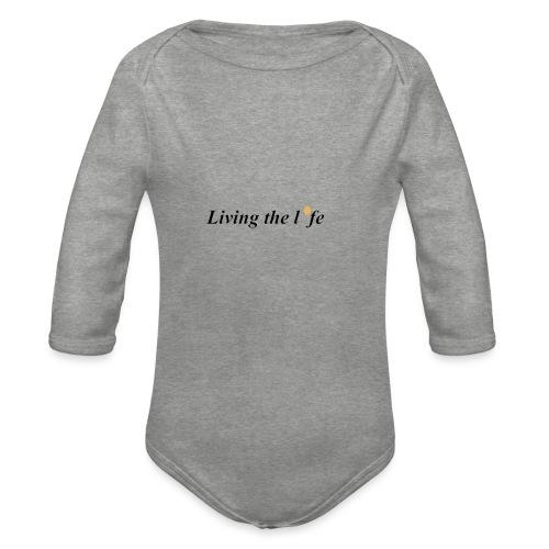 Leva livet - Ekologisk långärmad babybody