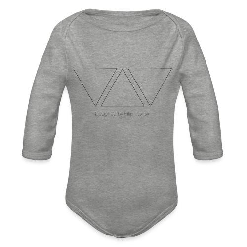 Designed by Filip Plonski - Organic Longsleeve Baby Bodysuit