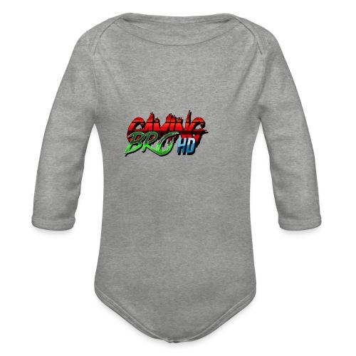 gamin brohd - Organic Longsleeve Baby Bodysuit