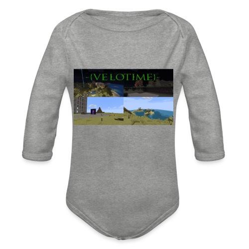 Velotime! - Ekologisk långärmad babybody