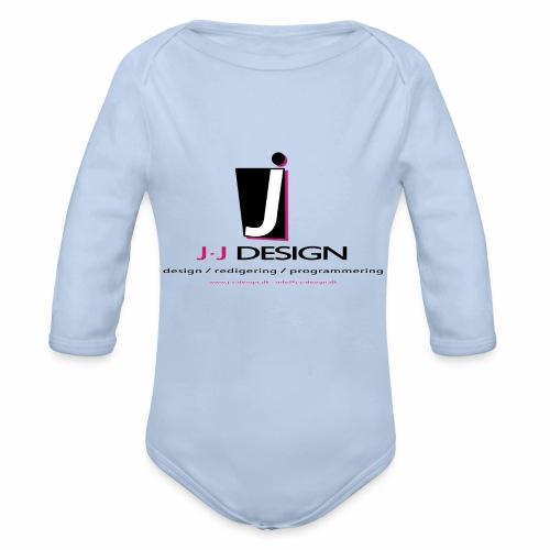 LOGO_J-J_DESIGN_FULL_for_ - Langærmet babybody, økologisk bomuld