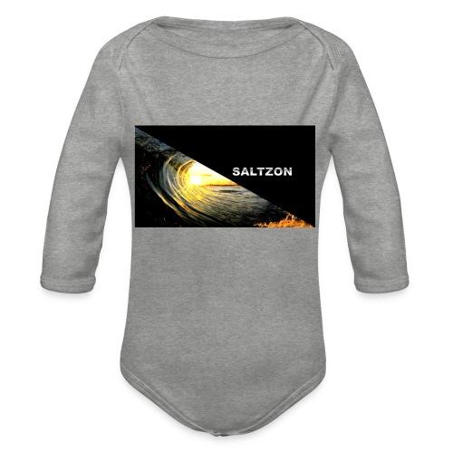 saltzon - Organic Longsleeve Baby Bodysuit