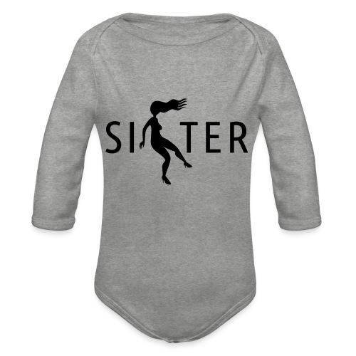 Sister - Organic Longsleeve Baby Bodysuit