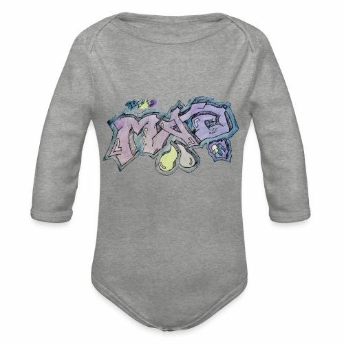 Life Is Mad TM Collaboration - Organic Longsleeve Baby Bodysuit