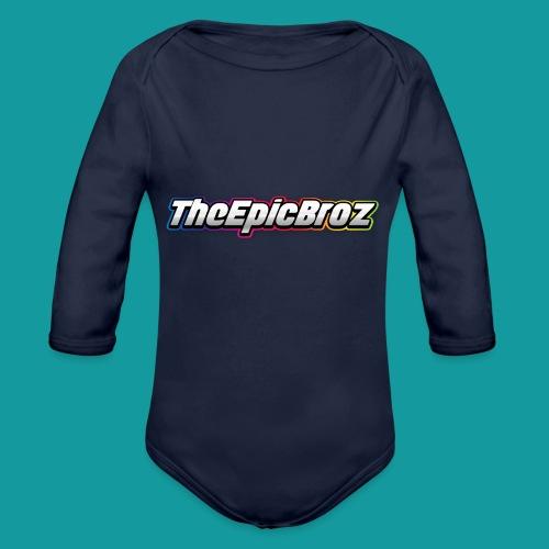 TheEpicBroz - Baby bio-rompertje met lange mouwen