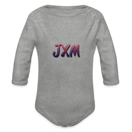JXM Logo - Organic Longsleeve Baby Bodysuit