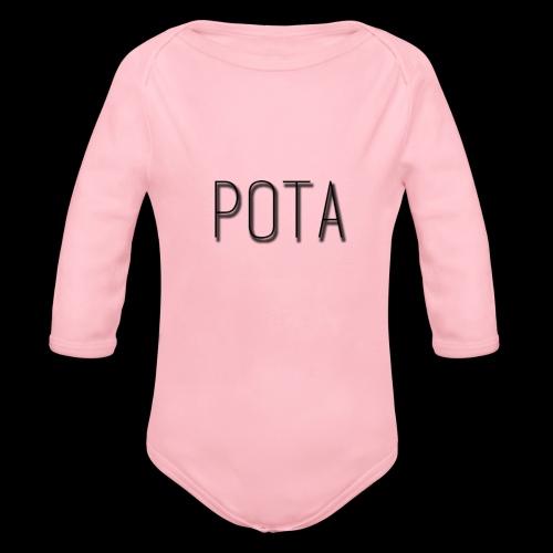 pota2 - Body ecologico per neonato a manica lunga