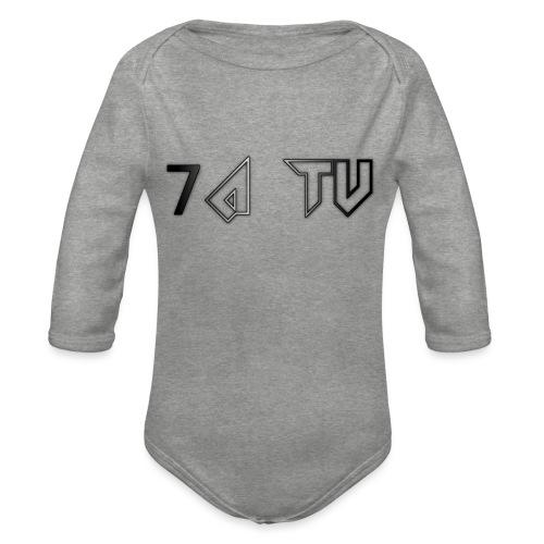 7A TV - Organic Longsleeve Baby Bodysuit