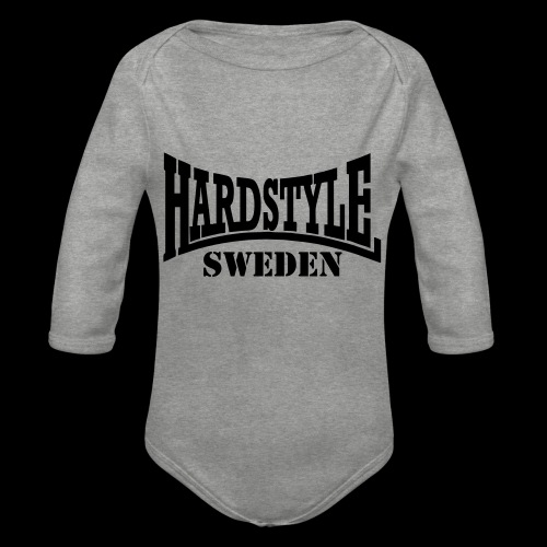 hardstyle - Ekologisk långärmad babybody
