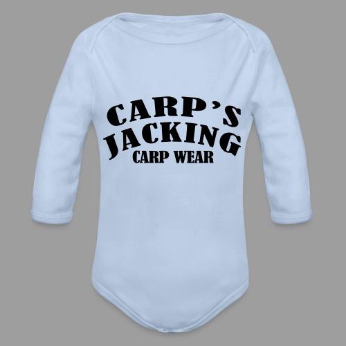 Carp's griffe CARP'S JACKING - Body Bébé bio manches longues