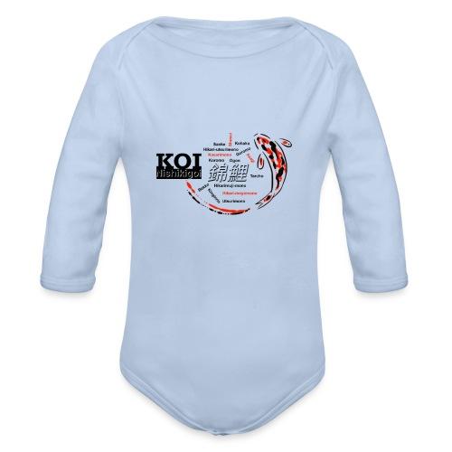 Koi - Baby Bio-Langarm-Body