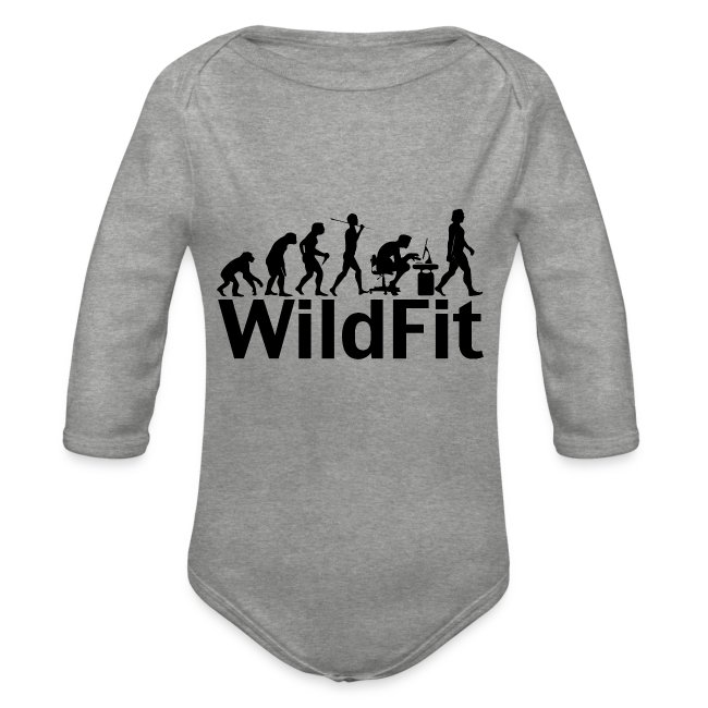 WildFit Logo Evolution in Schwarz