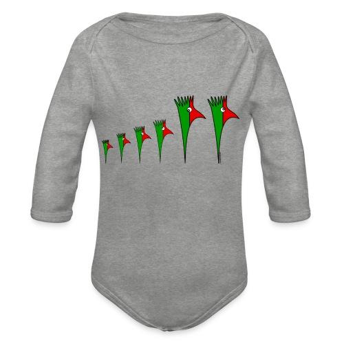 Galoloco - Família 4 - Baby Bio-Langarm-Body