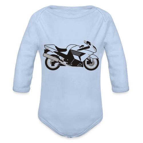 ZZR1400 ZX14 - Organic Longsleeve Baby Bodysuit