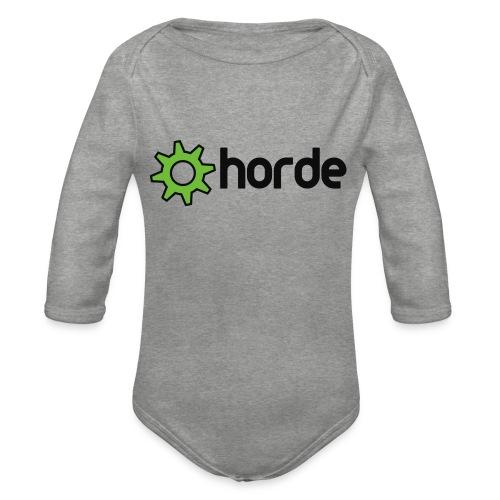 Polo - Organic Longsleeve Baby Bodysuit
