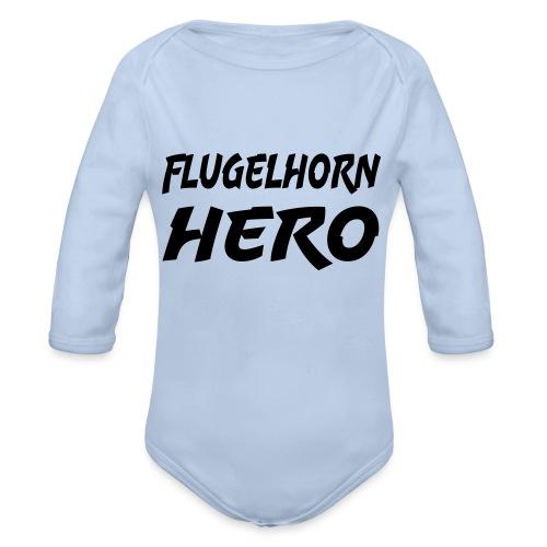 Flugelhorn Hero - Økologisk langermet baby-body