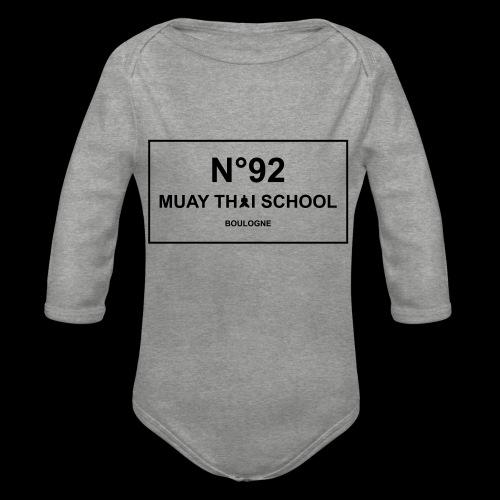 MTS92 N92 - Body Bébé bio manches longues