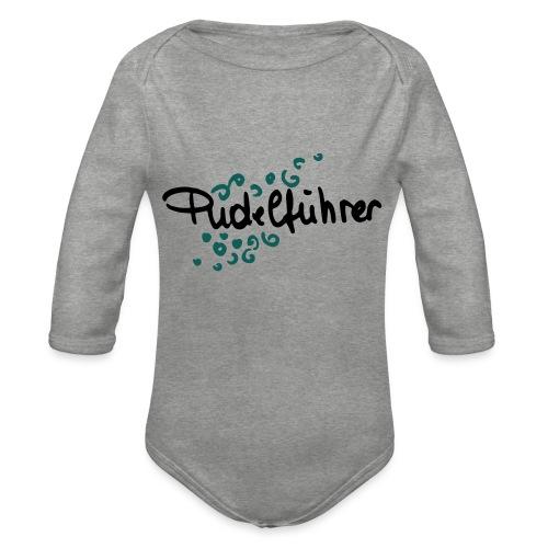 Pudelführer - Baby Bio-Langarm-Body