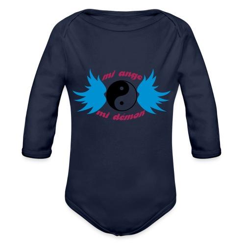 Débardeur Bio Femme Mi ange Mi démon - Organic Longsleeve Baby Bodysuit