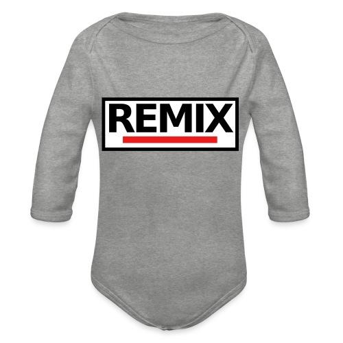 REMIX - Body Bébé bio manches longues