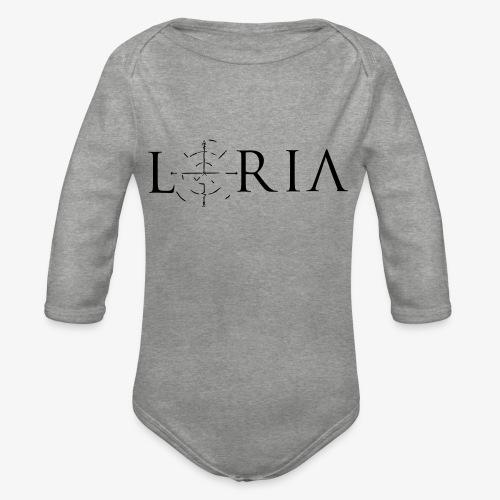 Loria Logo - Baby Bio-Langarm-Body