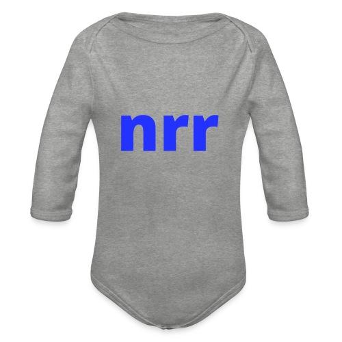 NEARER logo - Organic Longsleeve Baby Bodysuit