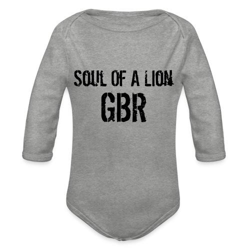 gbuwh3 - Organic Longsleeve Baby Bodysuit
