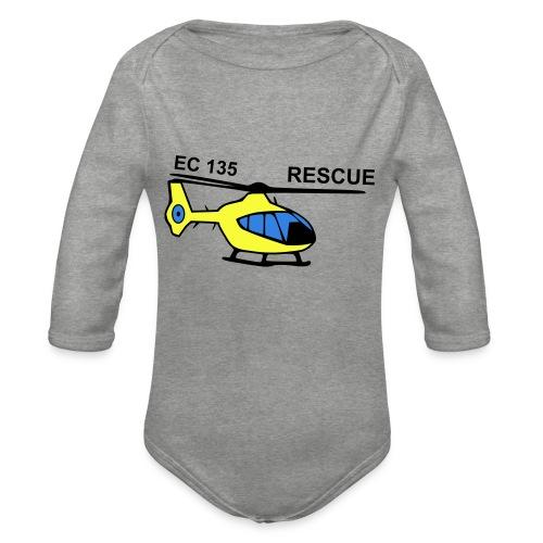 rescue - Baby Bio-Langarm-Body