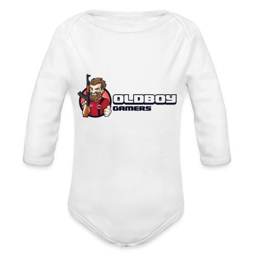 Oldboy Gamers Fanshirt - Økologisk langermet baby-body
