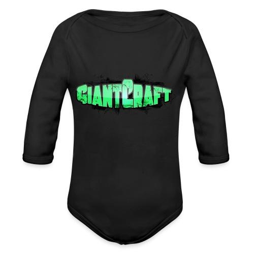 Badge - GiantCraft - Langærmet babybody, økologisk bomuld
