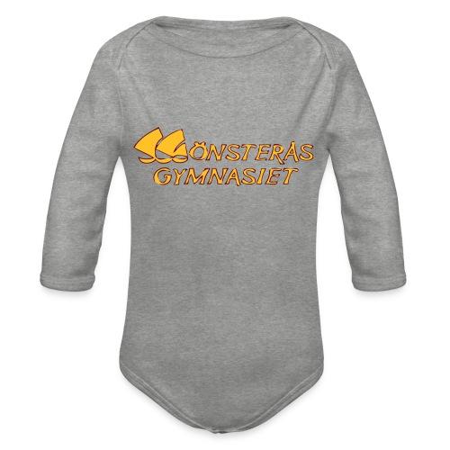 loggan - Ekologisk långärmad babybody