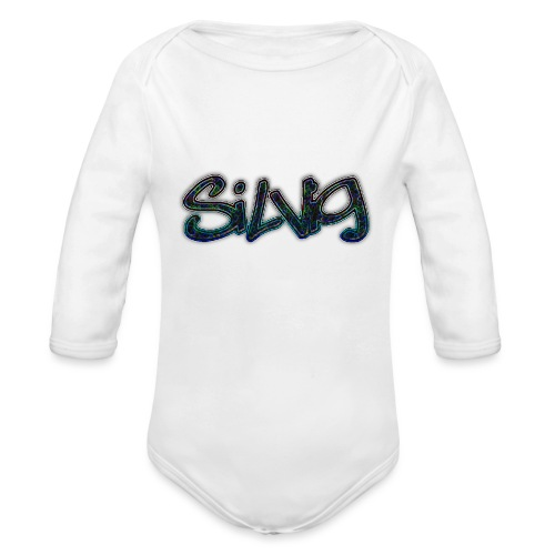 SilViG logo limited - Langærmet babybody, økologisk bomuld