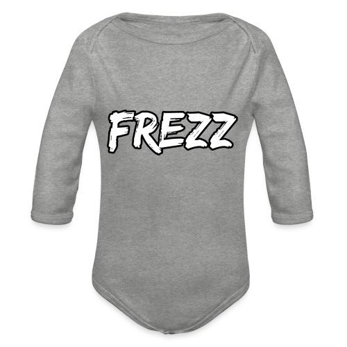 T Shirt FREZZ Noir&Blanc Classique (NOIR) - Body Bébé bio manches longues