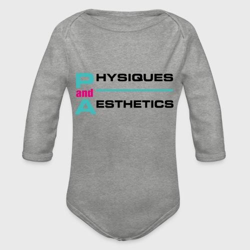 P. and A. - Body orgánico de manga larga para bebé