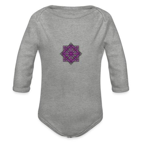 geometronology - Organic Longsleeve Baby Bodysuit