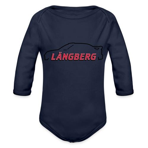 logotype Laengberg - Ekologisk långärmad babybody