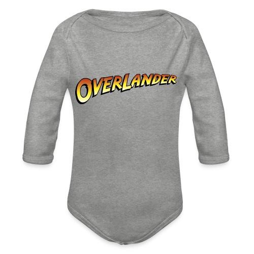 overlander0 - Økologisk langermet baby-body