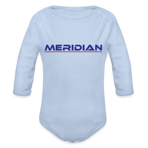 Meridian - Body ecologico per neonato a manica lunga