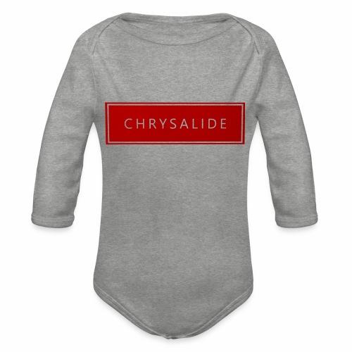 Chrysalide t shirt 012 petit format - Body Bébé bio manches longues