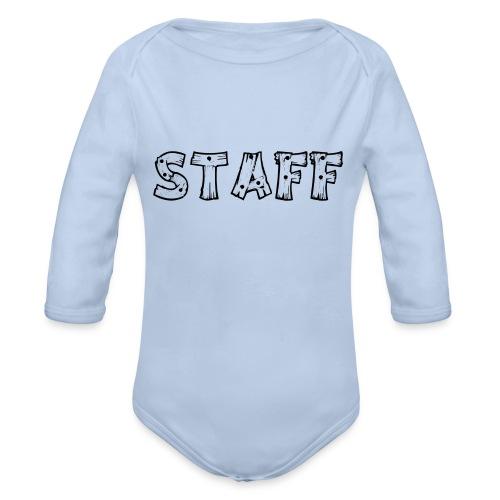 STAFF - Body ecologico per neonato a manica lunga