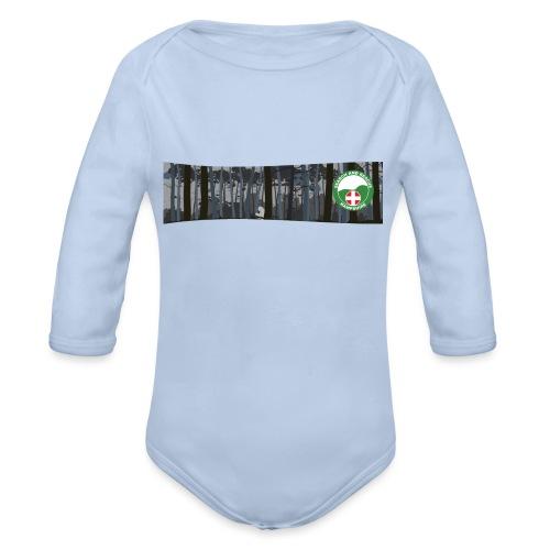 HANTSAR Forest - Organic Longsleeve Baby Bodysuit